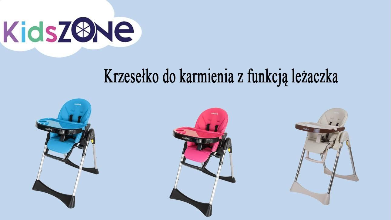 Krzesełko do karmienia - Kids Zone